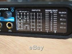 MOTU 4Pre hybrid audio interface USB & Firewire, Great quality (Kyma compatible)