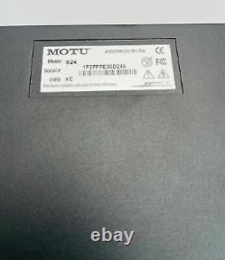 MOTU 624 16x16 Thunderbolt/USB3/AVB Ethernet Audio Interface with DSP Mixing