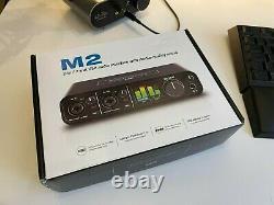 MOTU M2 Audio Interface USB-C