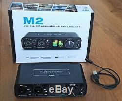 MOTU M2 USB Audio Midi Interface