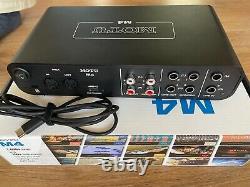 MOTU M4 4-Kanal USB C Audiointerface mit Midi-Schnittstelle