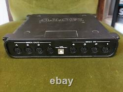MOTU Microlite MIDI Audio USB Interface 5 In and 5 Out with 80 Channels