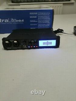 MOTU UltraLite MK4 USB Audio Interface Ess DAC Boxed