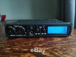 MOTU Ultralite Mk4 Mark 4 18x22 USB Audio Interface Mic/Line Inputs MIDI ADAT
