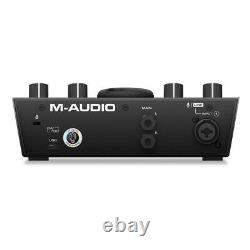 M-Audio AIR 192 4 Vocal Studio Pro 2-In 2-Out 24/192 USB Audio Interface Pack