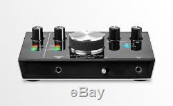 M-Audio M-Track 2X2 USB Audio Interface Recording Bundle Pro Tools First Plugins