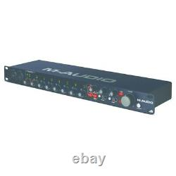 M-Audio M-Track Eight 8-Channel USB Midi Audio Interface Sound Card 19 Rack