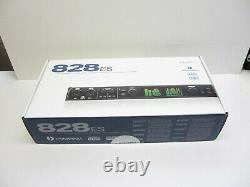 Motu 828es Audiointerface mit Thunderbolt und USB2 Netzwerk Anschluss 19