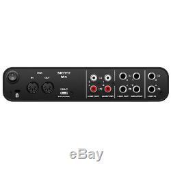 Motu M4 4x4 USB Audio Interface with Studio Quality Sound