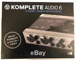Native Instruments KOMPLETE AUDIO 6 USB 2.0 Digital Audio Interface