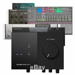 Native Instruments Komplete Audio 2 USB Audio Interface Studio Recording Mac PC