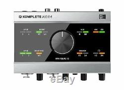 Native Instruments Komplete Audio 6 Musical instrument genuine New DHL express