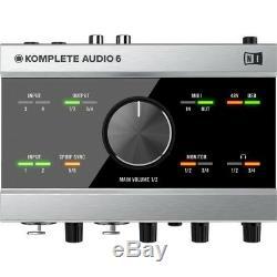 Native Instruments Komplete Audio 6 USB MIDI Audio Interface inc Warranty