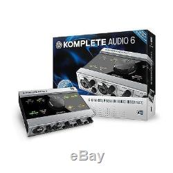 Native Instruments Komplete Audio 6 with USB cable Interface
