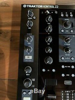 Native Instruments Traktor Kontrol Z2 USB MIDI Mixer / Audio Interface Built-In