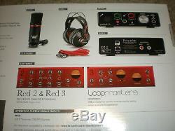 New Focusrite Scarlett Solo Studio USB Audio Interface/Recording Set 2nd Gen