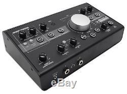 New Mackie Big Knob Studio 3x2 Monitor Controller 96kHz USB I/O + Headphones