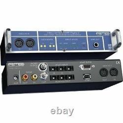 New RME Audio Digiface (Blue) / 24 Bit, 96 kHz, 52-channel HDSP I/O Box