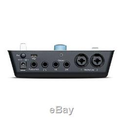 PreSonus ioStation 24C 2x2 USB-C Audio Interface and Production Controller