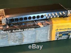 Presonus AudioBox 1818-VSL USB Audio Interface, Super Clean, Fully Working