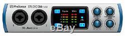 Presonus Studio 26 2x4 USB 2.0 Audio Recording Interface with 2 XMAX Mic Preamps