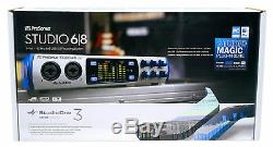 Presonus Studio 68 6x6 USB 2.0 Audio Recording Interface with 4 XMAX Mic Preamps