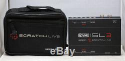 RANE SL3 Serato Scratch Live DJ USB Audio Interface