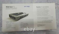 RME Babyface Pro 24 Channel 192Khz USB Audio Interface