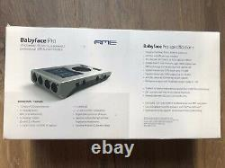 RME Babyface Pro 24 Channel USB High Speed Audio Interface