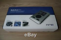 RME Babyface Pro Compact 24-Channel 192 KHz USB Audio Interface