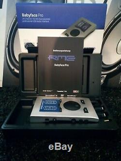 RME Babyface Pro USB Bus-Powered Studio Live Recording Audio Interface