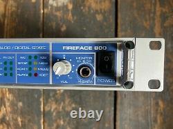RME Fireface 800 Audio Interface 192k 24bit 56 chan Thunderbolt USB C