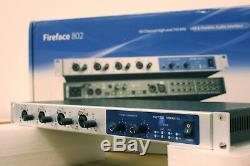 RME Fireface 802 60 Channel USB/Firewire Audio Interface 1 Year Warranty