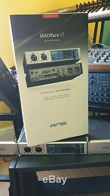RME MADIFace XT PRISTINE USB 3 Audio Interface Triple MADI, AES, 2xMIC Pres