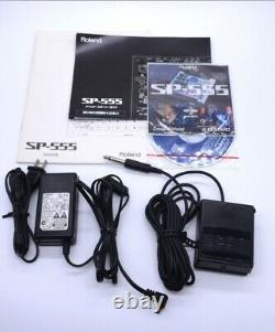 Roland SP-555 Creative Sampler Sequencer Loop Capture USB Audio Interface