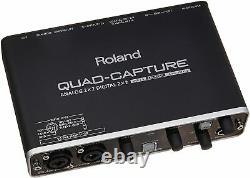Roland UA-55 QUAD-CAPTURE Audio Interface USB2.0 24 Bit 192 kHz 4 In 4 Out