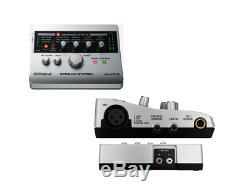 Roland Ua-4fx2 Stream Station Usb Audio Guitar MIC Recording Interface Pc & Mac