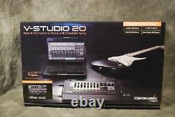 Roland V-Studio 20 Audio Interface USB Control Surface NEW Dealer Cakewalk DVD