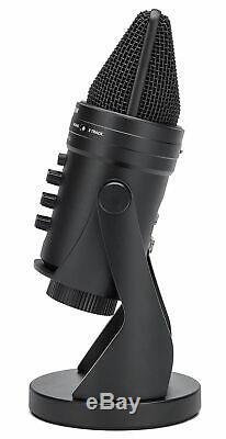 SAMSON G-Track Pro USB Recording Microphone Mic+Audio Interface+Pop Filter