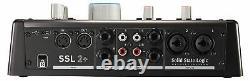 SSL 2+ USB-C Audio-Interface 2 In/4 Out Mikrofonverstärker Legacy 4K Schalter