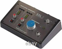 SSL SSL2 2-In/2-Out USB-C Audio Interface with Designed Microphone Preamps
