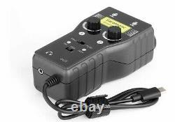 Saramonic SmartRig+ UC Dual Smartphone Audio Interface USB Type C Plug