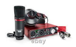 Scarlett 2i2 Studio (2nd Gen) Audio Interface