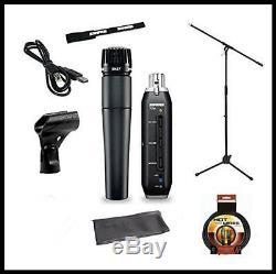 Shure Recording Studio Kit SM57 Vocal Microphone X2U XLR-to-USB Audio Interface