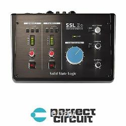 Solid State Logic 2+ USB Audio Interface PRO AUDIO NEW PERFECT CIRCUIT
