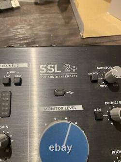 Solid State Logic SSL 2+ USB Audio Interface (NEW)