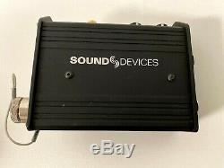 Sound Devices MixPre-D Compact Field Mixer + USB Audio Interface, Excellent