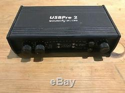 Sound devices USBpre2 Two-channel, portable, high-resolution USB audio interface