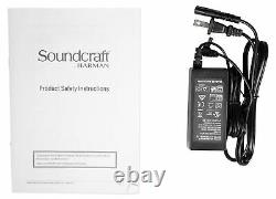 Soundcraft Notepad-12FX 12-Channel Recording Mixer with 4x4 USB DAW Interface + FX