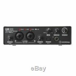 Steinberg UR22 MK2 Studio Recording USB Audio Interface Mac PC + Cubase AI UR-22